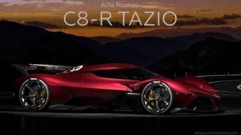 Alfa Romeo C8-R Tazio concept