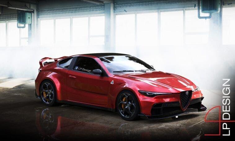 Alfa Romeo GTV GTAm LP Design render