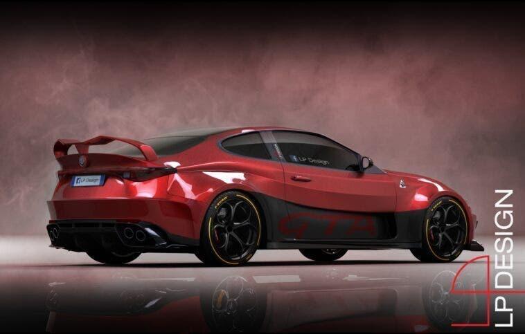 Alfa Romeo GTV GTAm posteriore LP Design