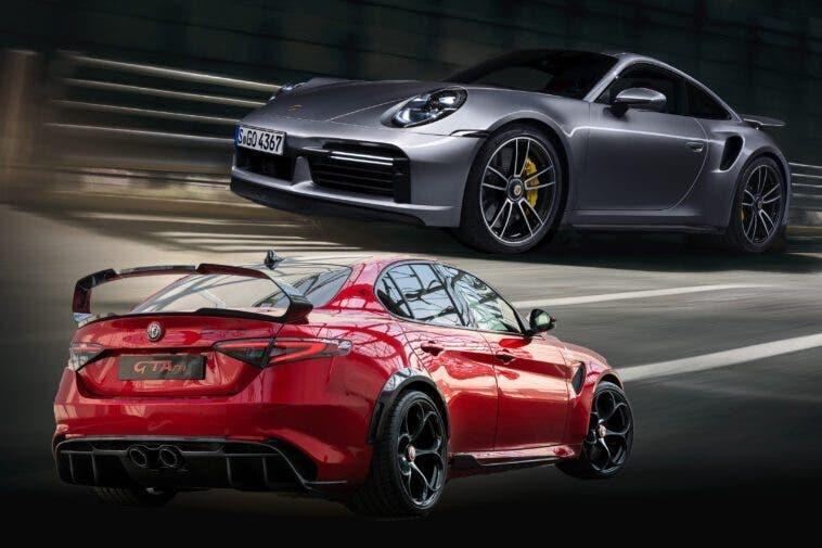 Alfa Romeo Giulia GTAm Vs Porsche 911 Turbo