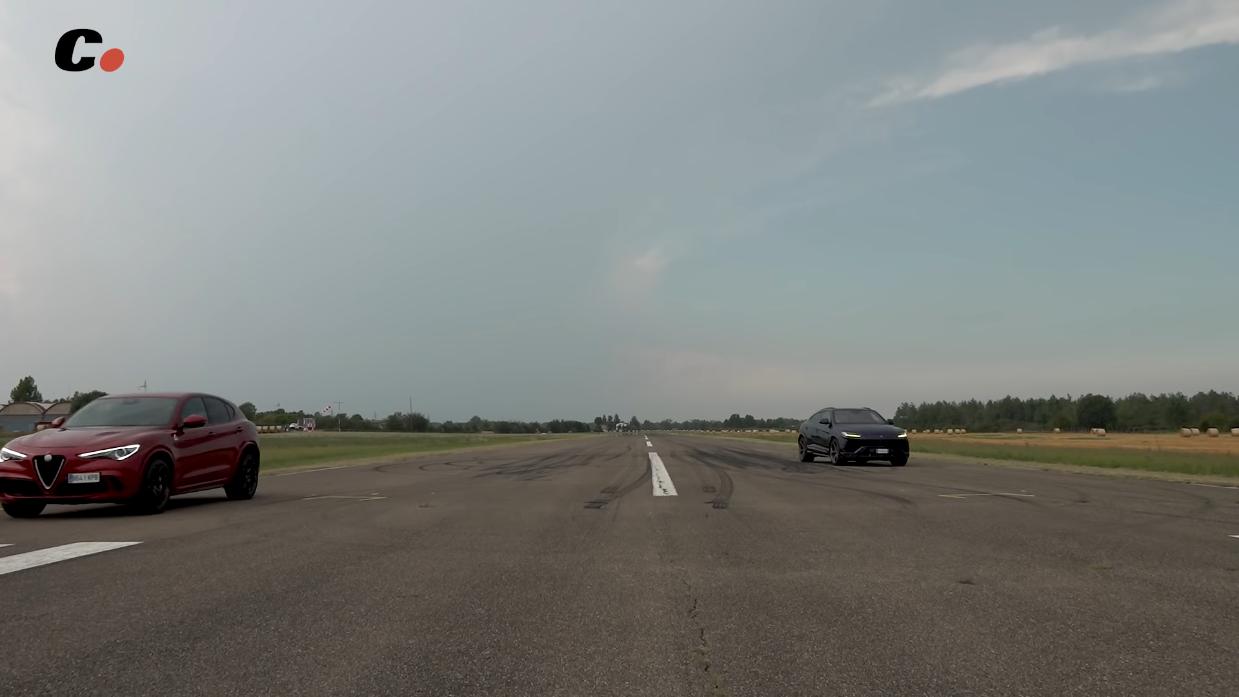 Alfa Romeo Stelvio Quadrifoglio vs Lamborghini Urus Coches