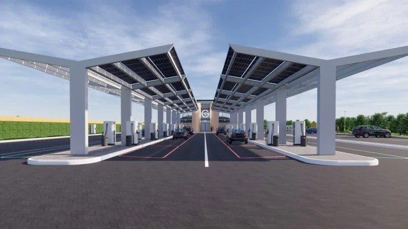 Auto elettriche stazione ricarica UK