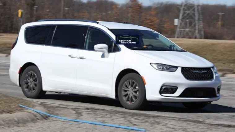 Chrysler Pacifica 2021 foto live