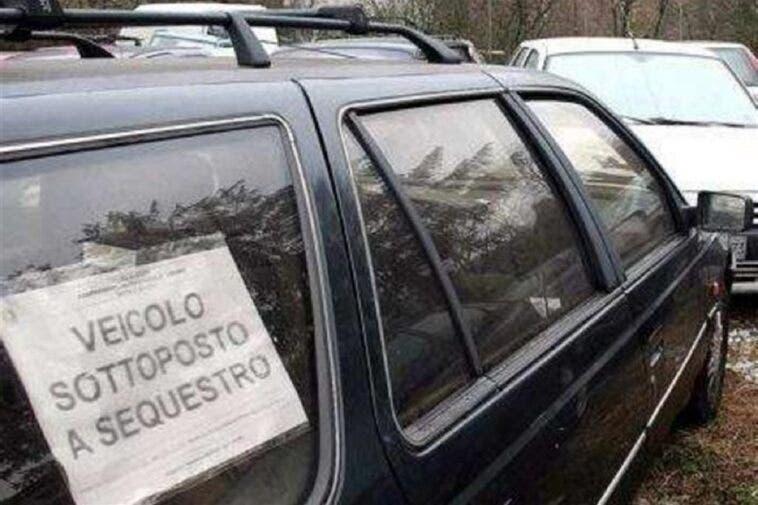 Coronavirus sequestro auto