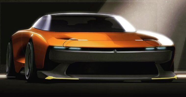 Dodge Charger Ralph Gilles render