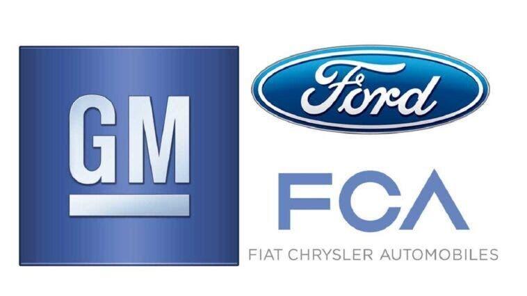 FCA Ford General Motors