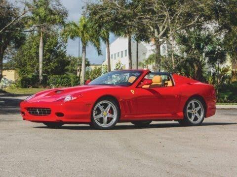 Ferrari 575 Superamerica 2006 asta