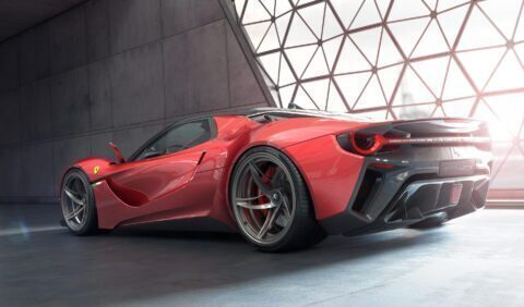 Ferrari Stallone concept
