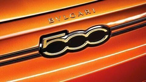 Fiat 500 Elettrica Bulgari