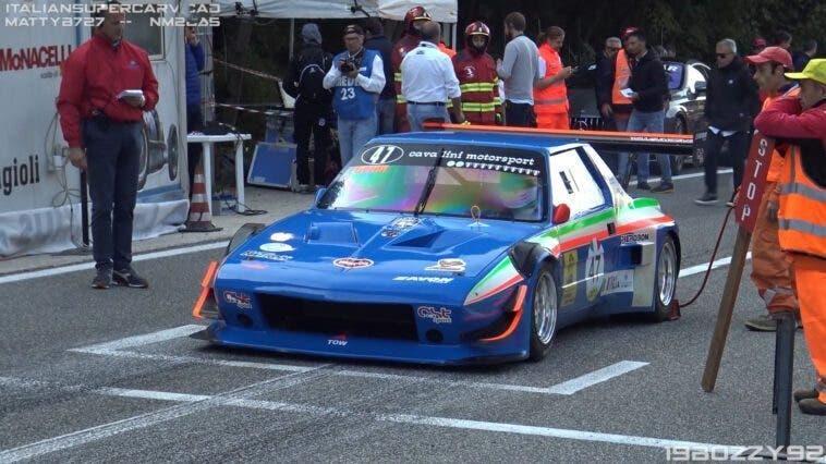 Fiat X1/9 Proto hillclimb