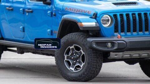 Jeep Gladiator Mojave foto live