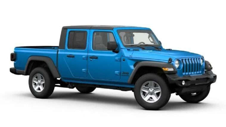 Jeep Gladiator Sport S Truck of the Year pack