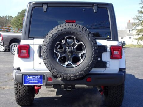 Jeep Wrangler Rubicon Recon Bright White