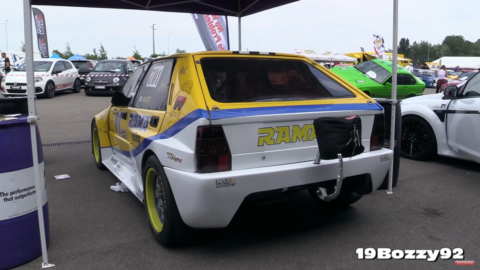 Lancia Delta HF Integrale RAMA Racing