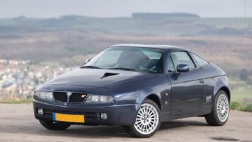 Lancia Hyena Madras Blue asta