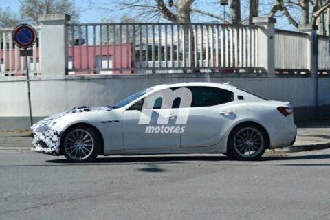 Maserati Ghibli 2021 foto spia