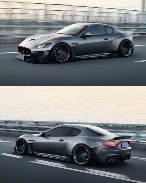Maserati GranTurismo body kit MBYTE