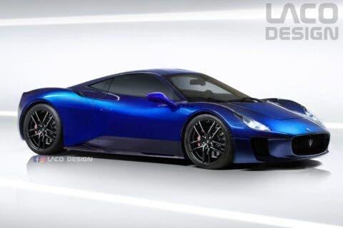 Maserati MC20 LACO Design render