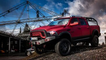 Ram 1500 Rebel JB Car Design