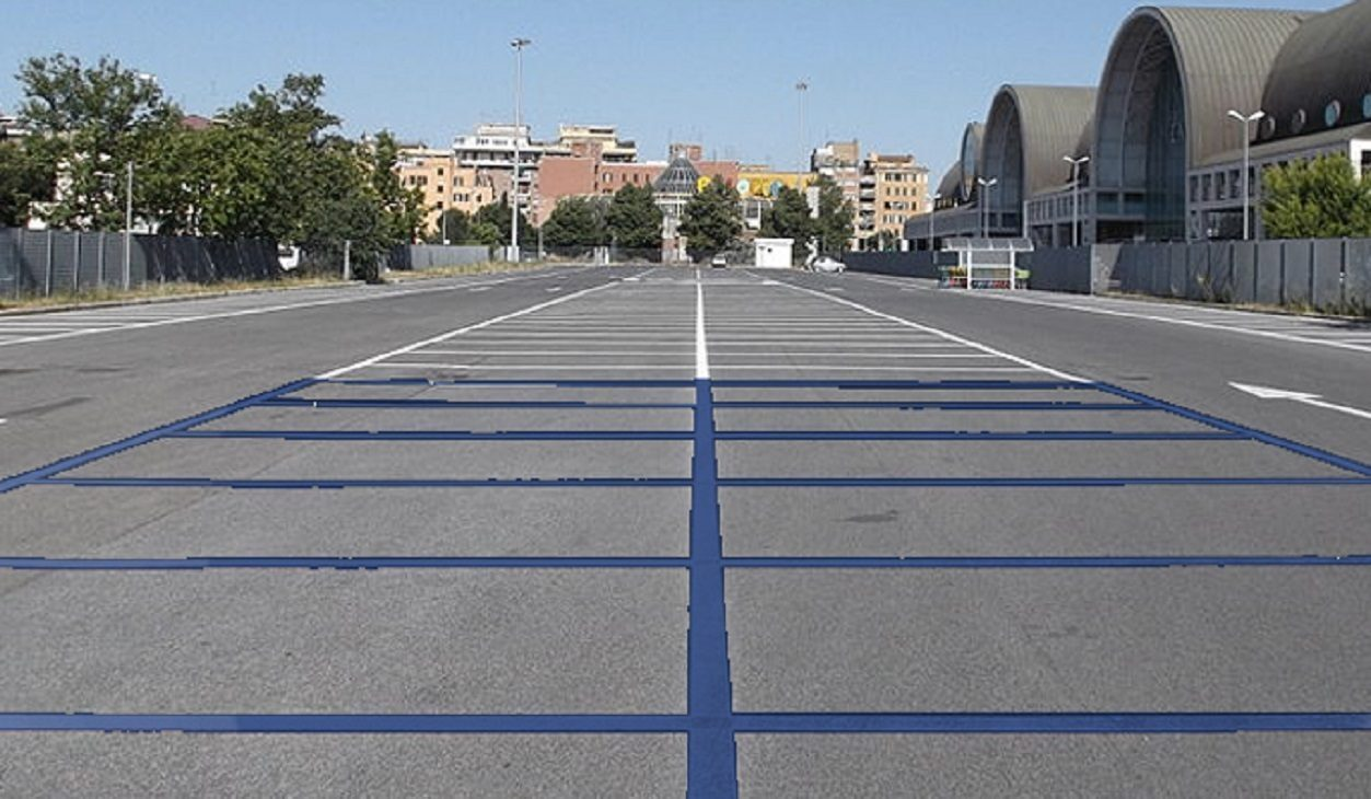 Roma parcheggi strisce blu gratis