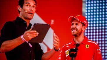 Vettel e Webber