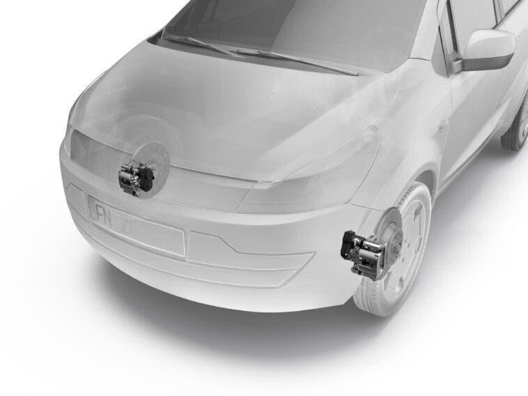 ZF freno di stazionamento elettrico anteriore