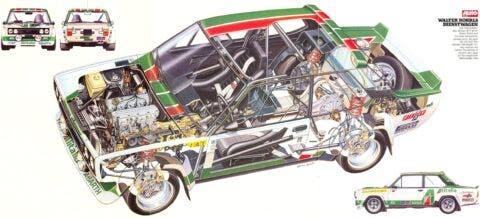 Fiat 131 Rally - 9