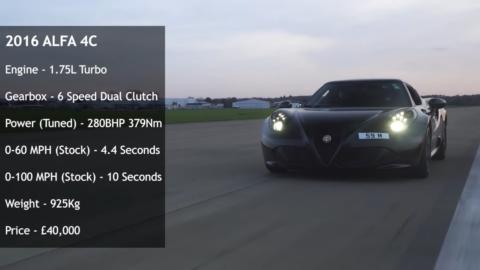 Alfa Romeo 4C 888MF