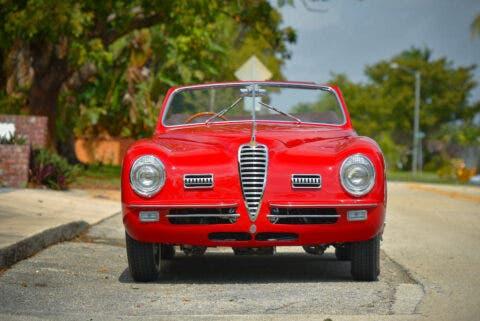 Alfa Romeo 6C 2500 Super Sport Cabriolet 1949 asta