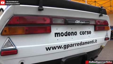 Alfa Romeo Alfasud Sprint ItalianSupercarVideo