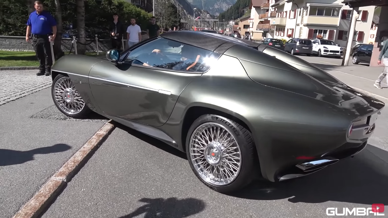 Alfa Romeo Disco Volante Alpi svizzere