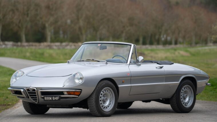Alfa Romeo Duetto Spider 1967 Harry Metcalfe