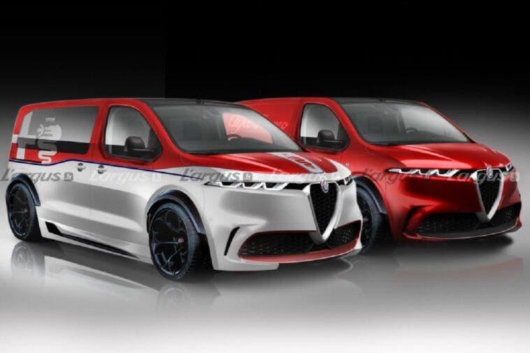 Alfa Romeo Esperto render