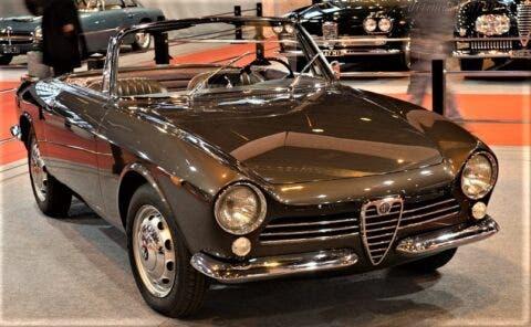 Alfa Romeo Giulia Spider Prototipo - 18