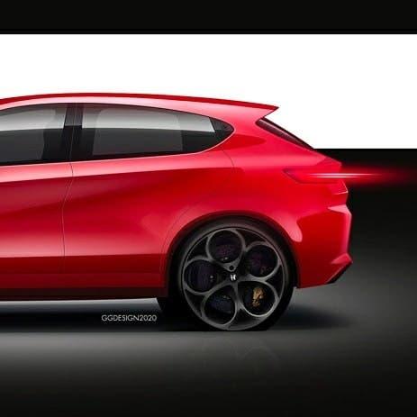 Alfa Romeo Giulietta 2021 concept