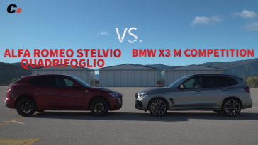 Alfa Romeo Stelvio Quadrifoglio vs BMW X3 M Competition Coches