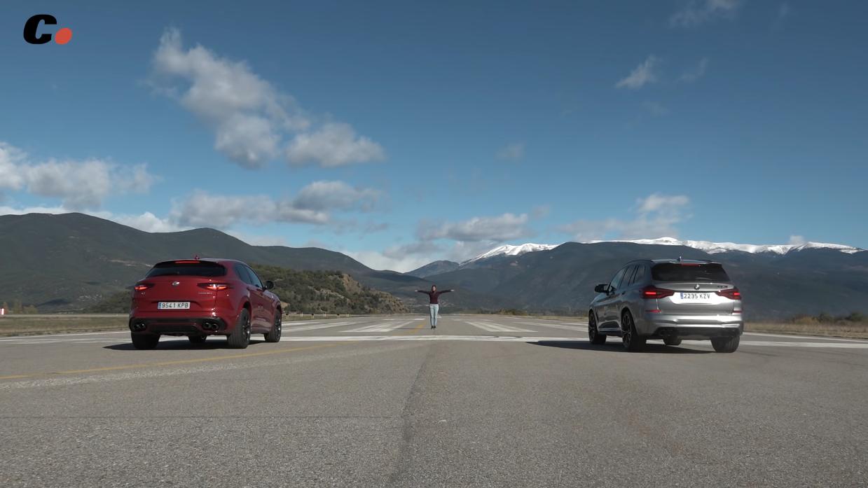 Alfa Romeo Stelvio Quadrifoglio vs BMW X3 M Competition Coches