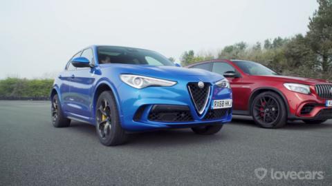 Alfa Romeo Stelvio Quadrifoglio vs Mercedes-AMG GLC 63 S Lovecars