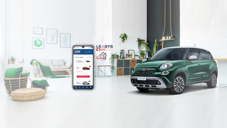 App Leasys CarCloud e Home delivery