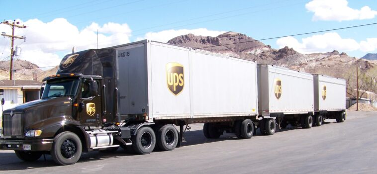 Camion guida autonoma UPS