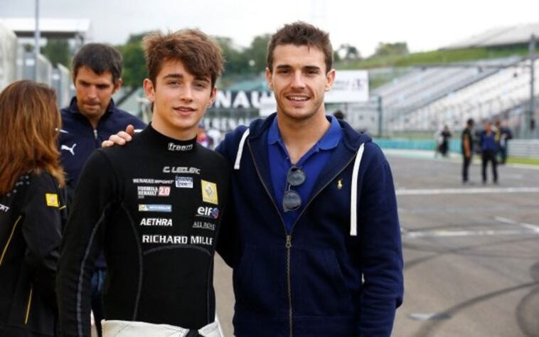 Charles Leclerc e Jules Bianchi
