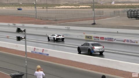 Chrysler 300 SRT vs Corvette Grand Sport Wheels