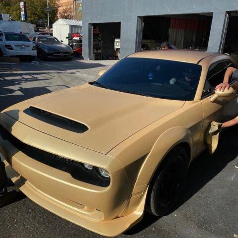 Dodge Challenger SRT Demon Cappuccino