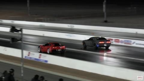Dodge Challenger SRT Hellcat Corvette Z06 Wheels