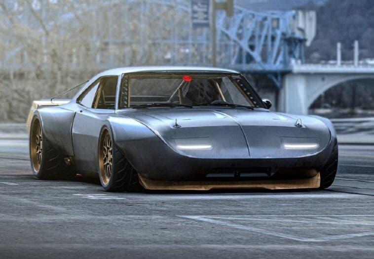 Dodge Charger Daytona widebody render