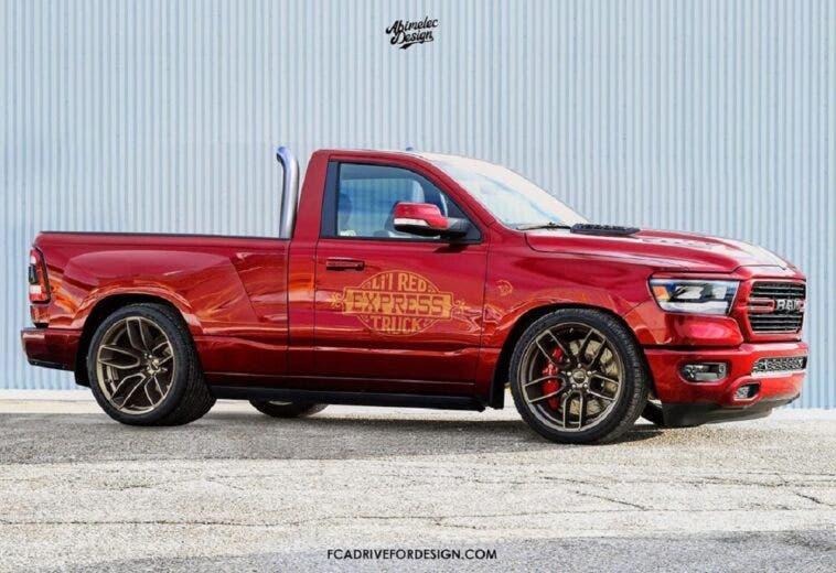Dodge Lil' Red Express Ram 1500