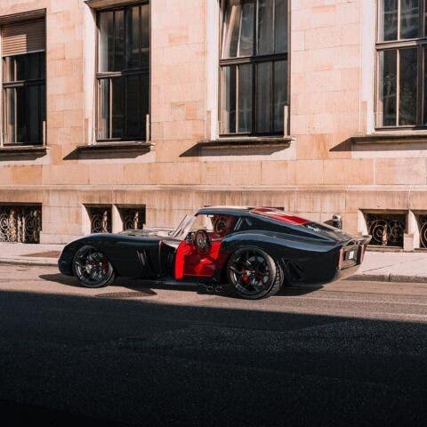 Ferrari 250 GTO moderna render