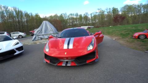 Ferrari 488 Pista Dobre Cars