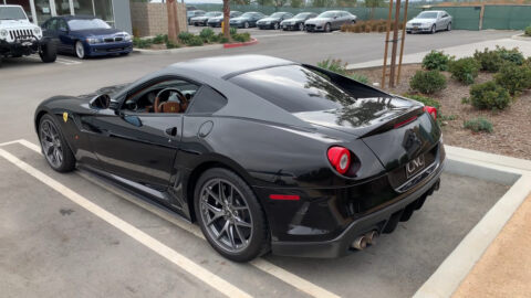 Ferrari 599 GTO Doug DeMuro