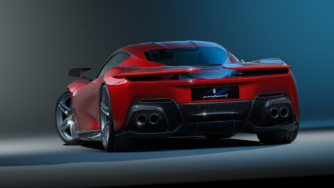 Ferrari Battista Unicorn Vision